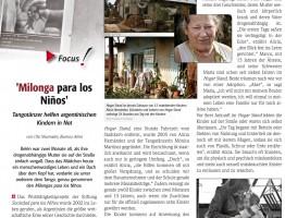 Seite 1 Milonga para los Niños, feature
